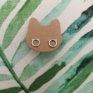 catmom zilveren sieraden minimalistische zilveren oorbellen catmom.nl