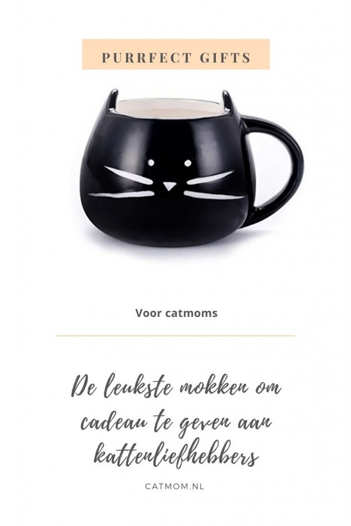 mok kat catmom.nl cadeau kattenliefhebber