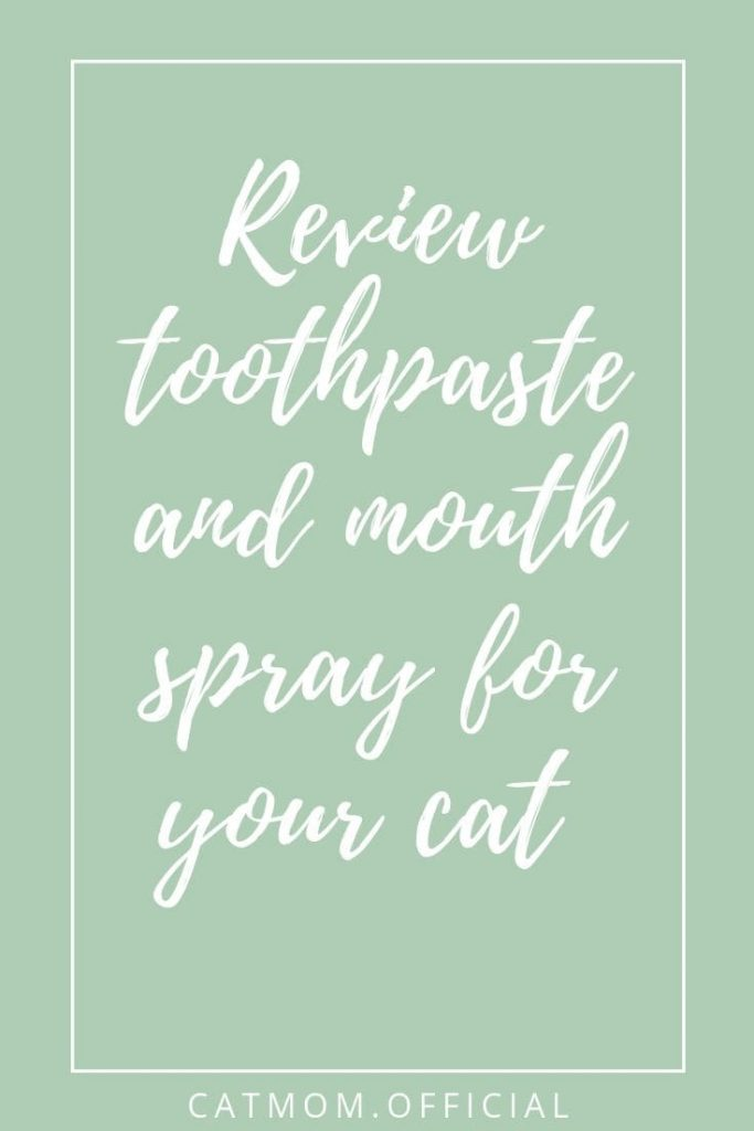 Review toothpaste and mouth spray for your cat from oxyfresh pets