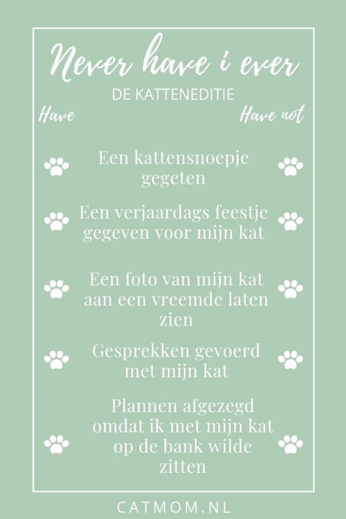 never have i ever katten cat edition catmom.nl gratis instagram invul template