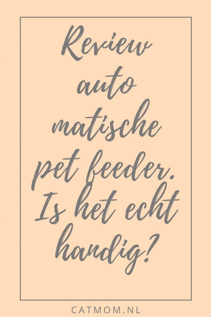 review automatische per feeder honeyguardian review automatische voederbak voerbak voor huisdieren katten en honden catmom nl