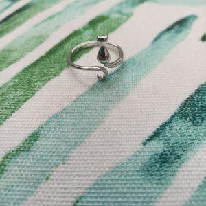 zilveren ring 925 zilver kattenring catmom.nl