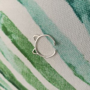zilveren ring 925 zilver catmom