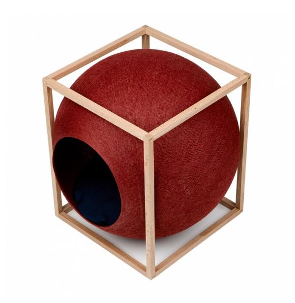 clay rode cube the cube meyou paris luxe kattenmand stijlvolle katten mand kopen kattenhuis bestellen catmom.nl kattenwebshop
